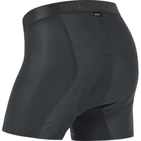 GORE WEAR C3 Windstopper+ Baselayer Boxer Shorts Heren, black